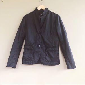 • Jil Sander • Lightweight Black Jacket Coat 38
